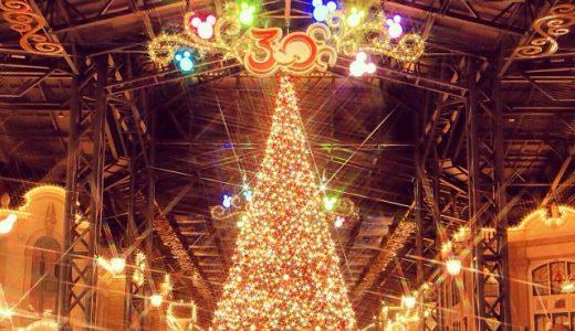クリスマスのTDR風景