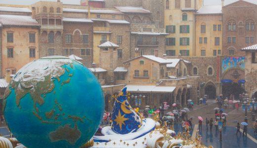 まるで別世界!雪降るディズニーリゾートの風景を観てきました