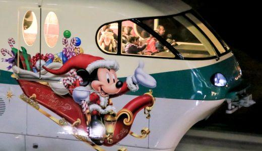 ディズニーリゾートラインに乗ってクリスマスを楽しもう
