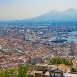 サンテルモ城から眺めるナポリ