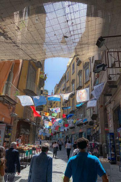 ナポリ 街並み