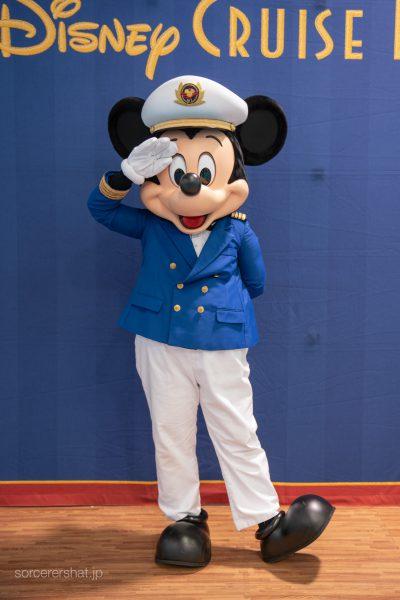 Mickey at Cruise Terminal