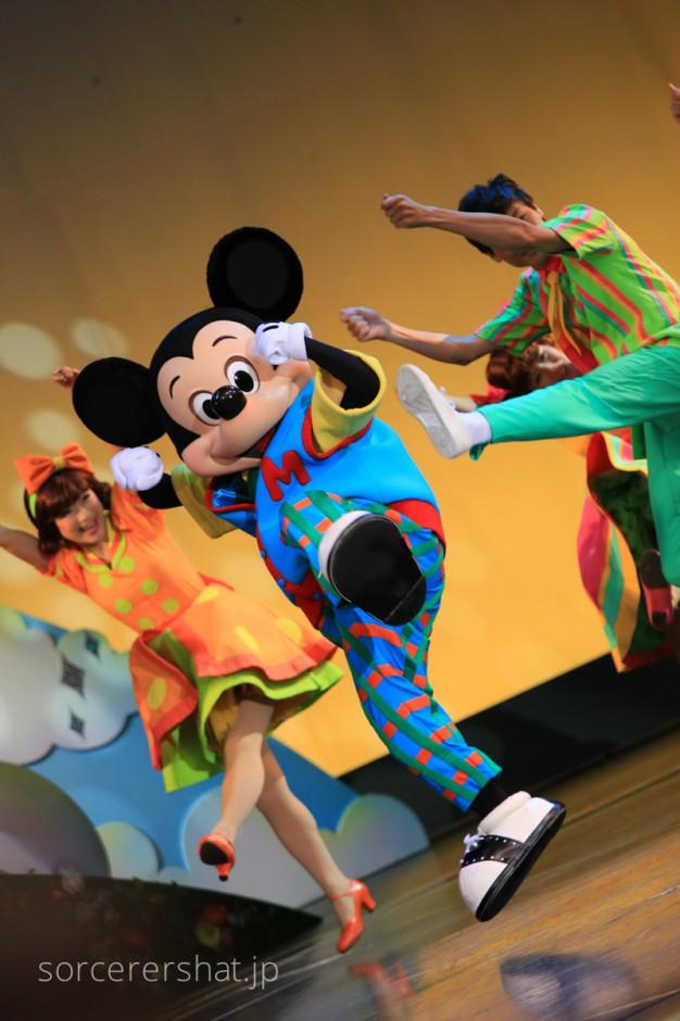キレキレのダンスを魅せる市長ミッキー