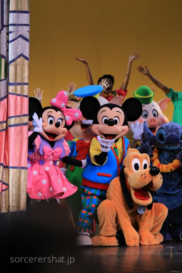ディズニーの仲間たちとの特別な時間ともお別れ